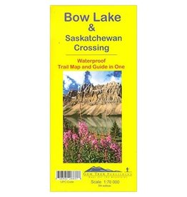 Carte Gemtrek Bow Lake & Saskatchewan Crossing