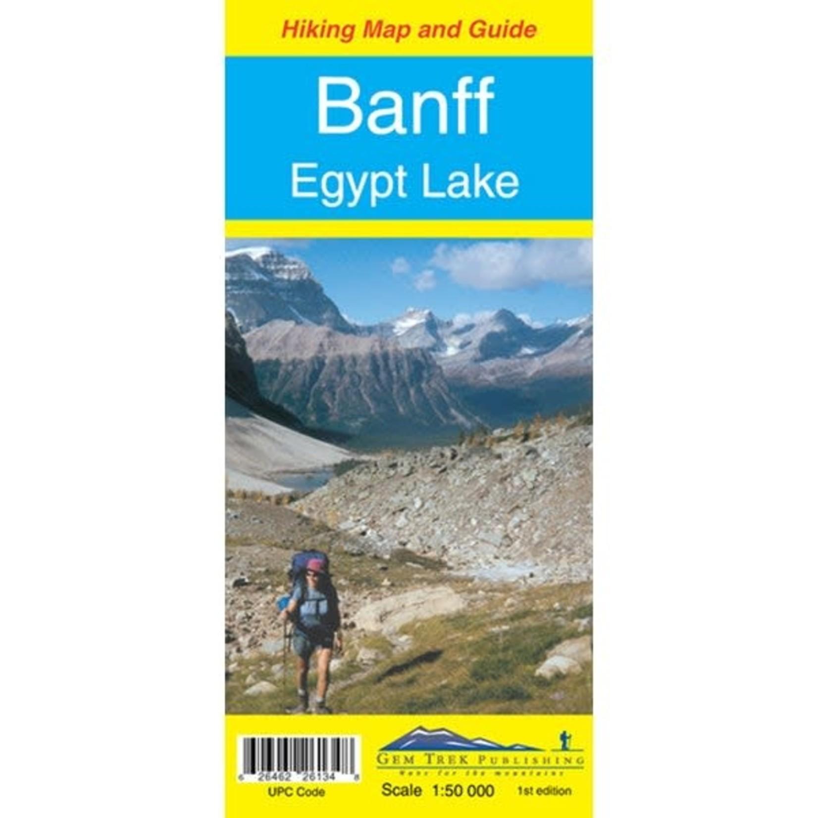 Gem Trek Map Banff & Egypt Lake