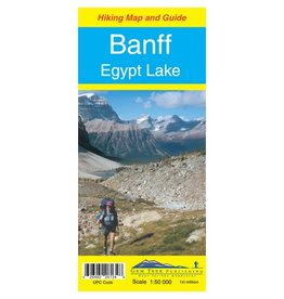 Gem Trek Map Banff & Egypt Lake
