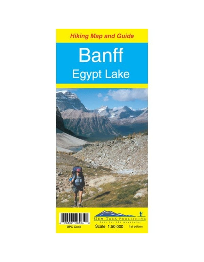Carte Gem Trek Banff & Egypt Lake
