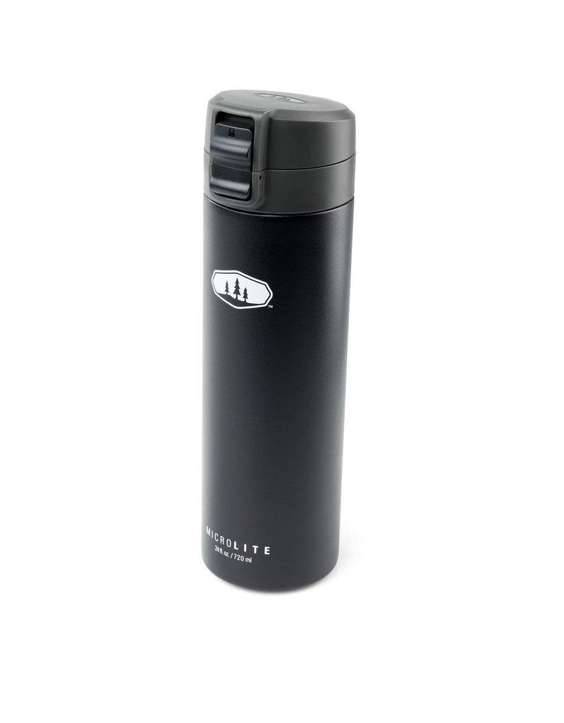 Glacier Microlite Stainless Steel Vacuum Bottle - 720 ml
