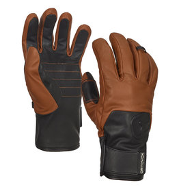 Ortovox Gants en cuir Ortovox Swisswool Leather Gloves - Unisexe