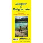 Gemtrek map Jasper &  Maligne Lake