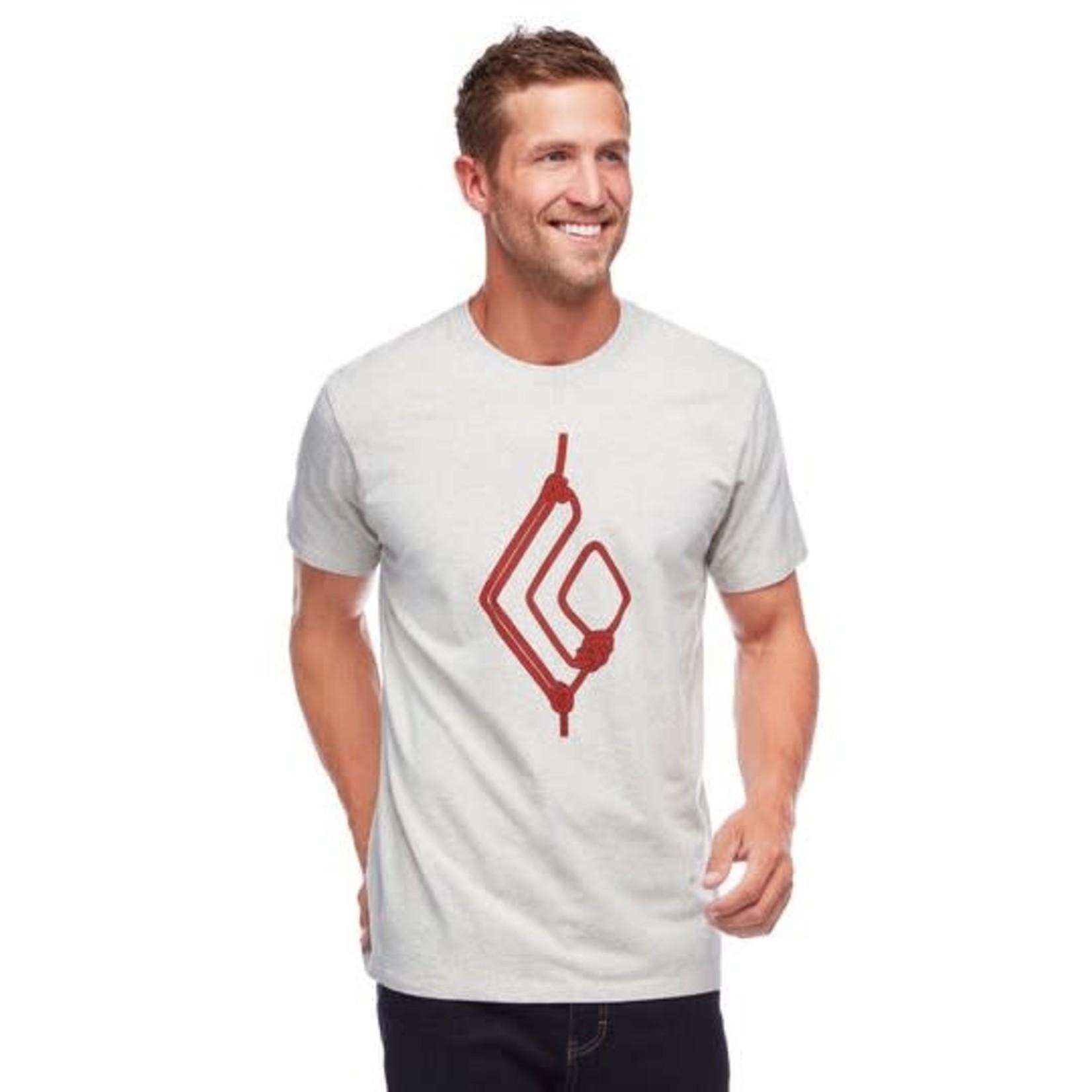 Black Diamond T-shirt Black Diamond Rope Diamond - Homme