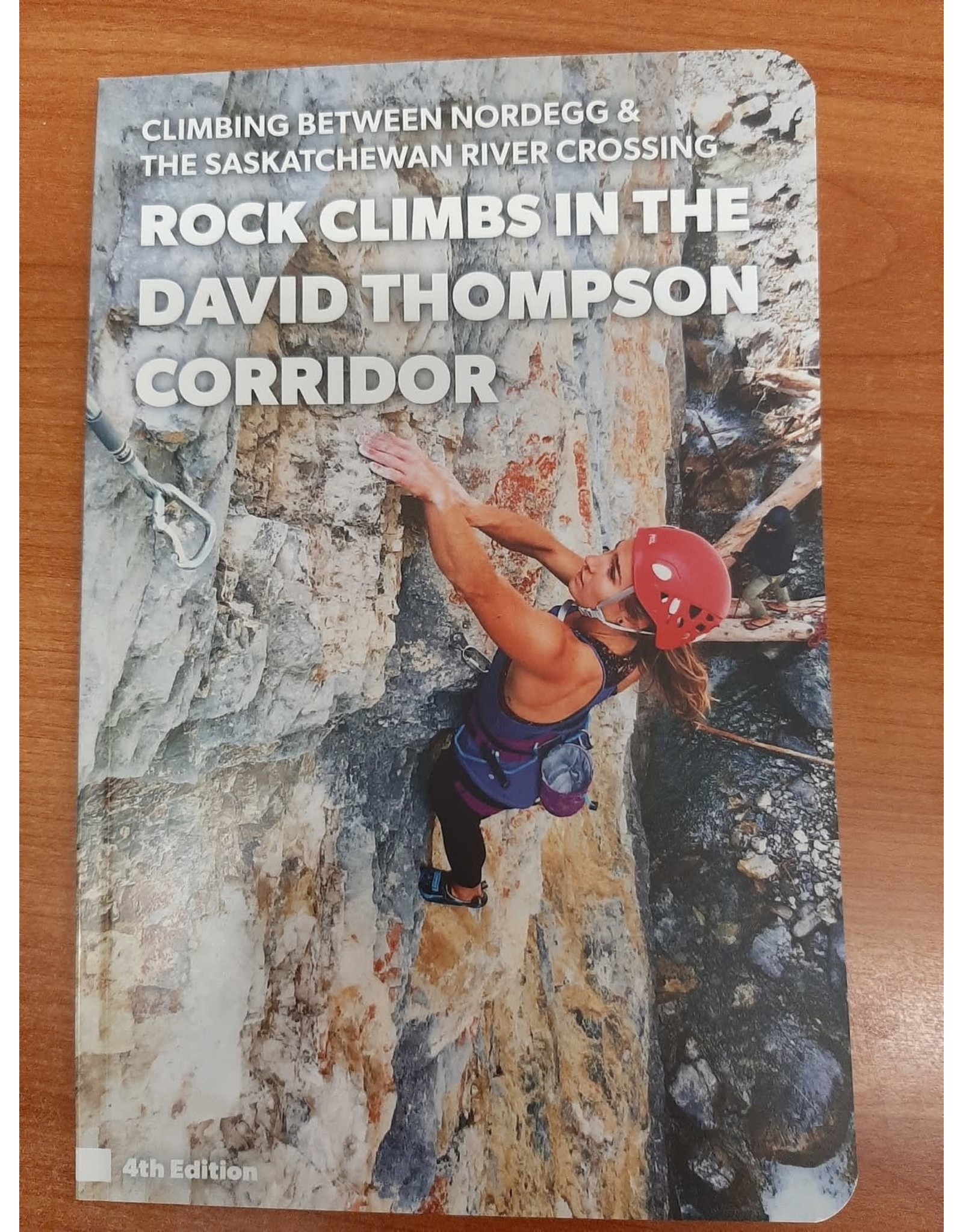 Red point design Rock Climbs in the David Thompson Corridor