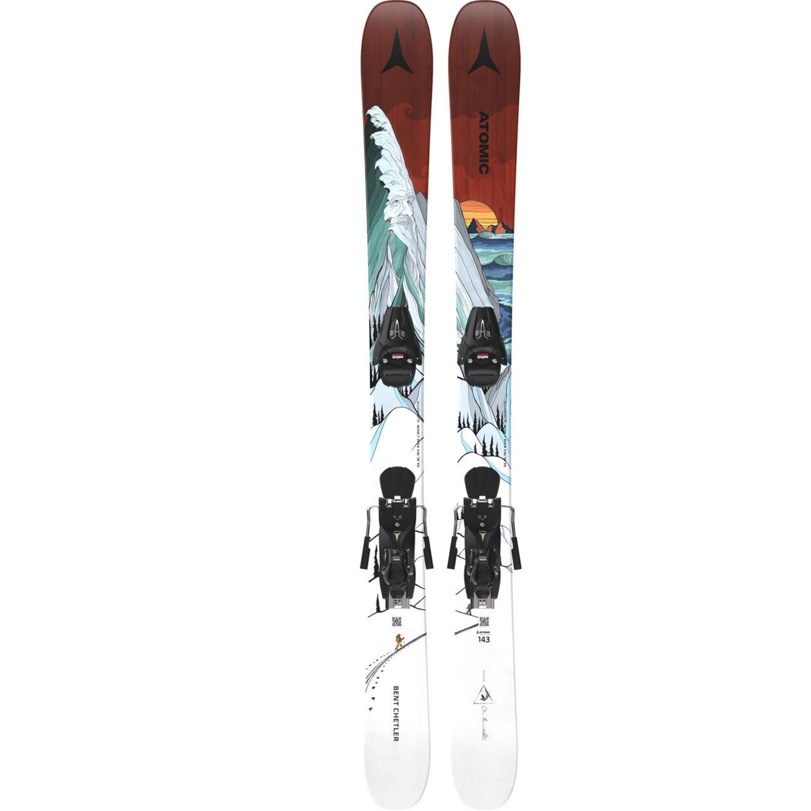 Atomic Ski Atomic Bent Chetler Mini avec fixations Colt 10 - Junior