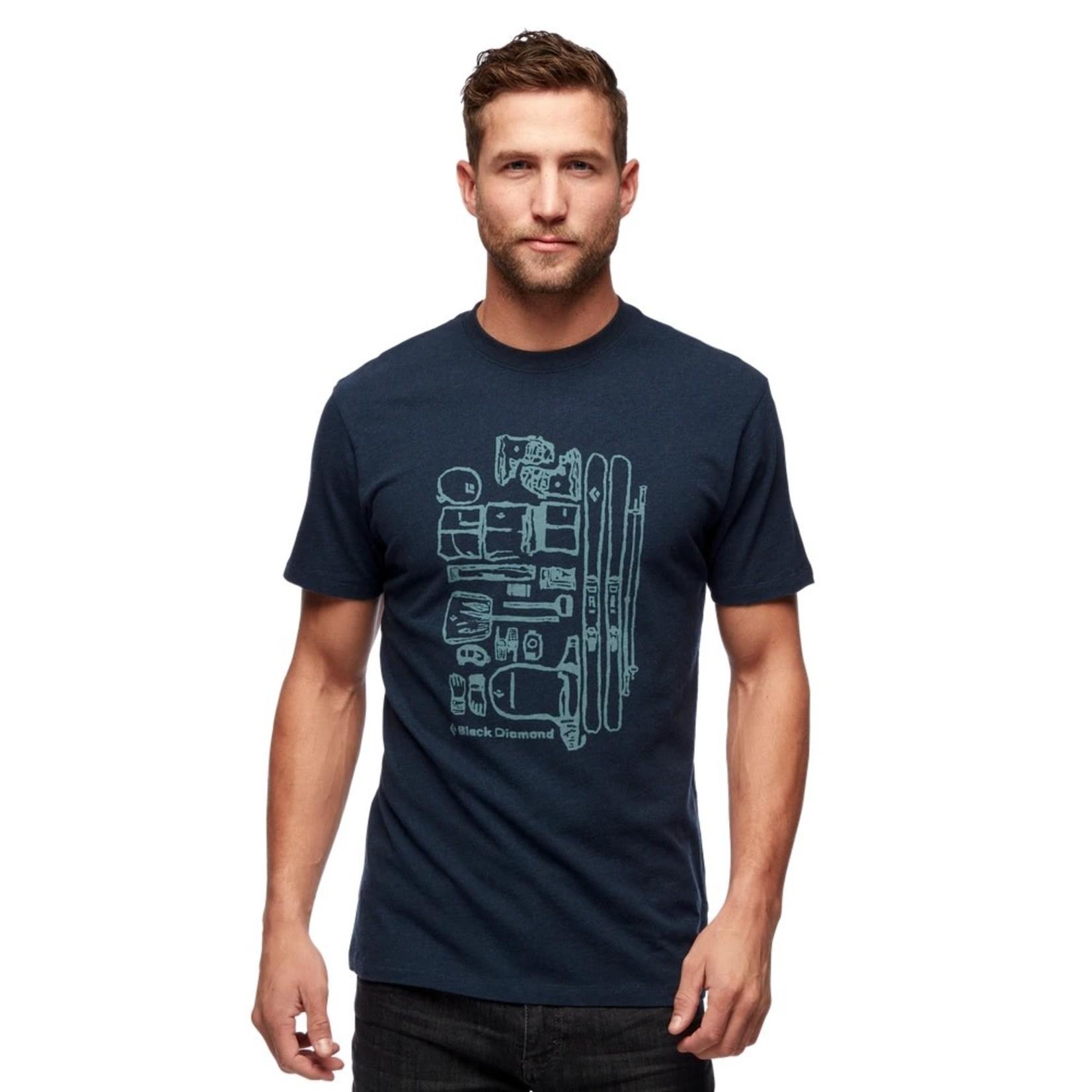 Black Diamond T-shirt Black Diamond Ski Gear - Homme
