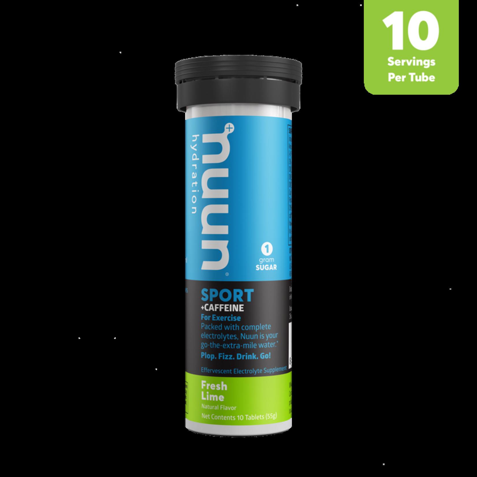 NUUN Sport - Lime fraîche et caféine