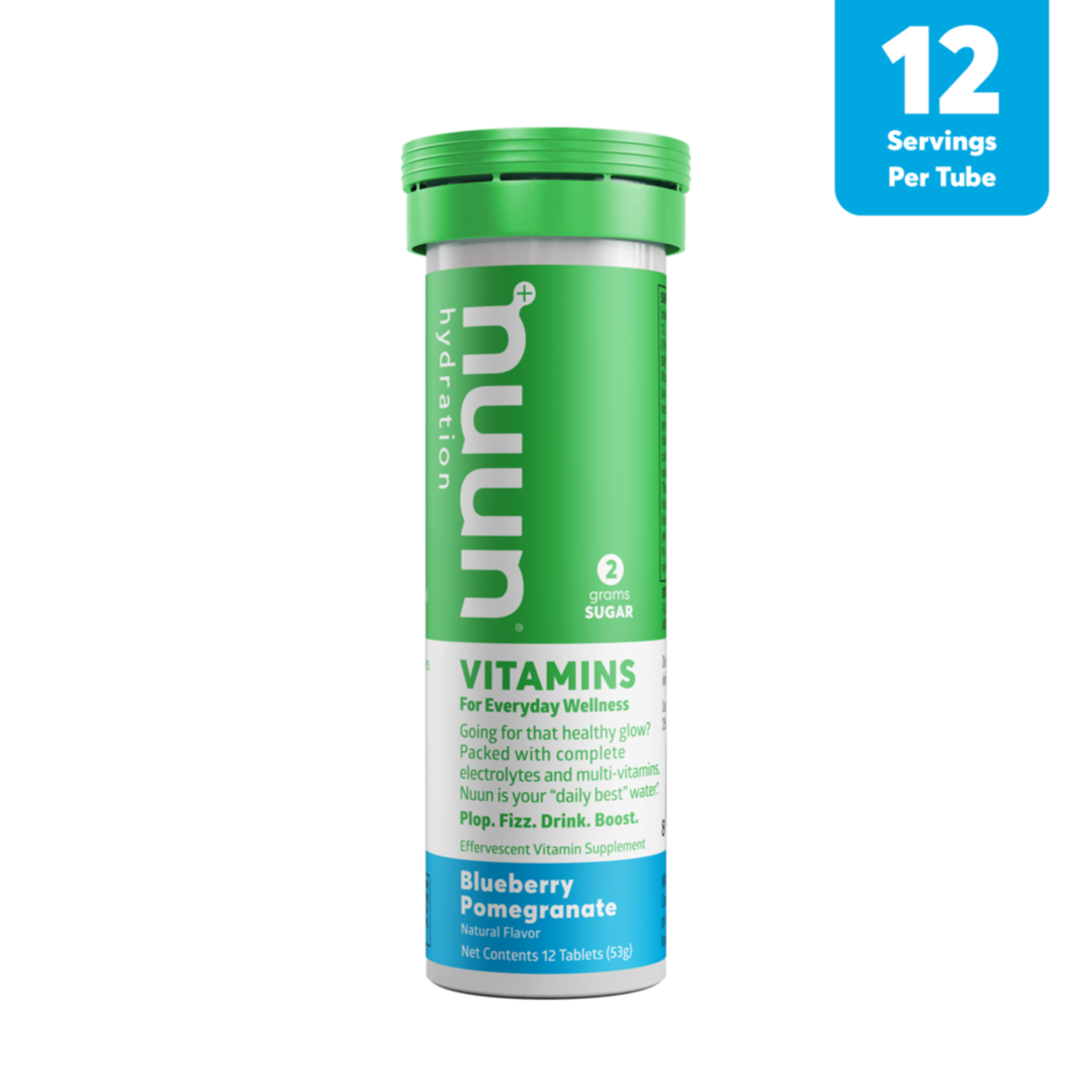 Nuun Vitamin - Bleuet et grenade