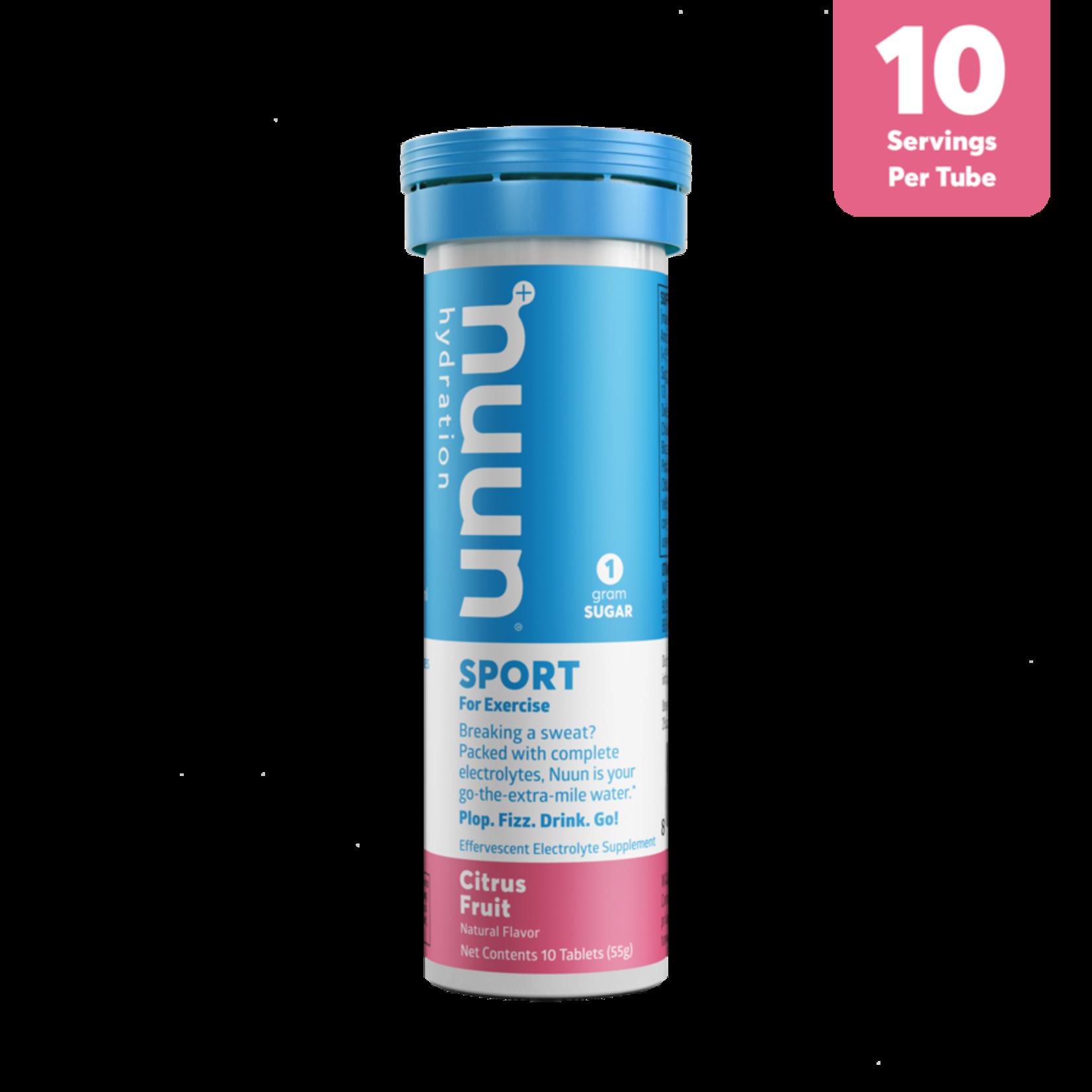 NUUN Sport - Agrumes