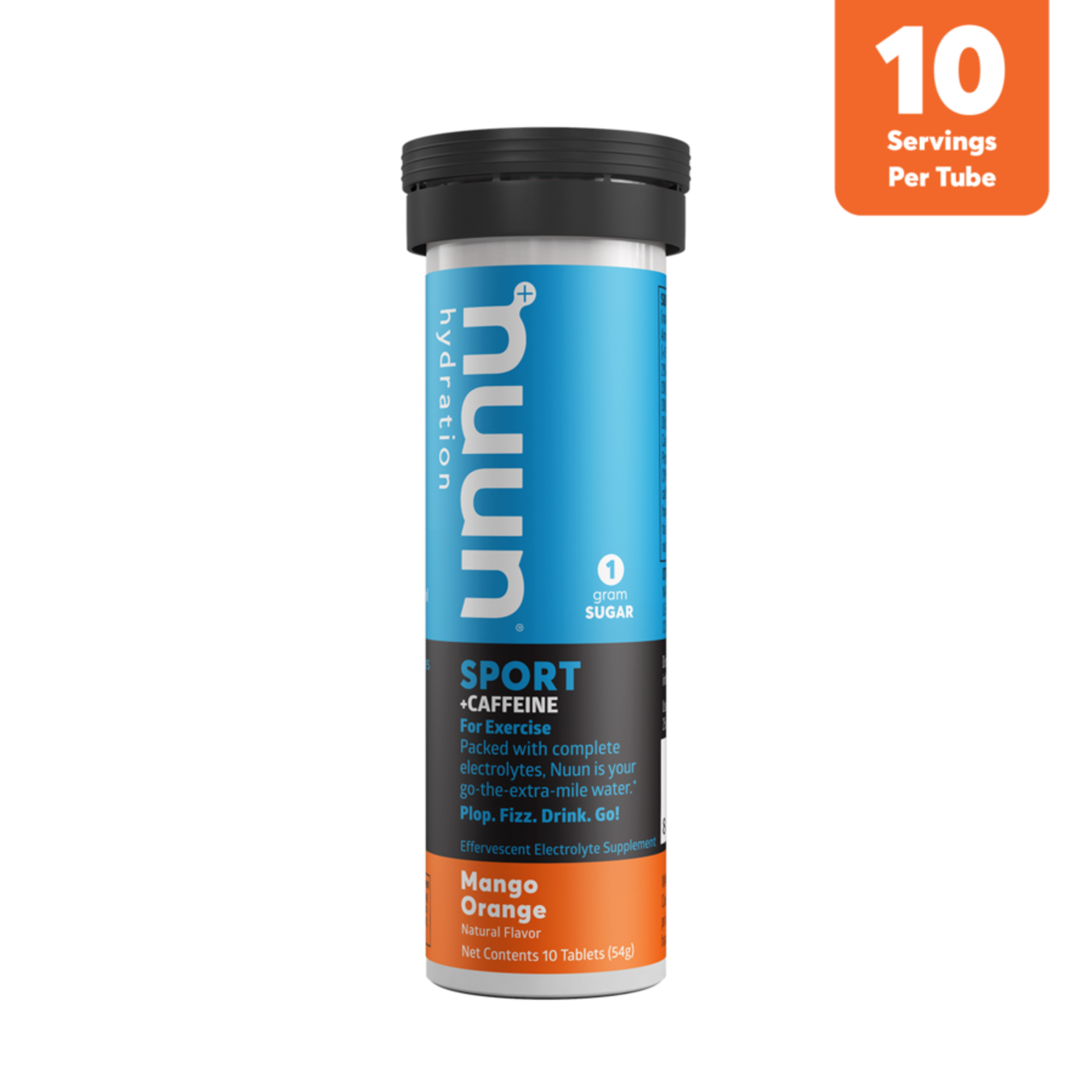 NUUN Sport - Mangue orange et caféine