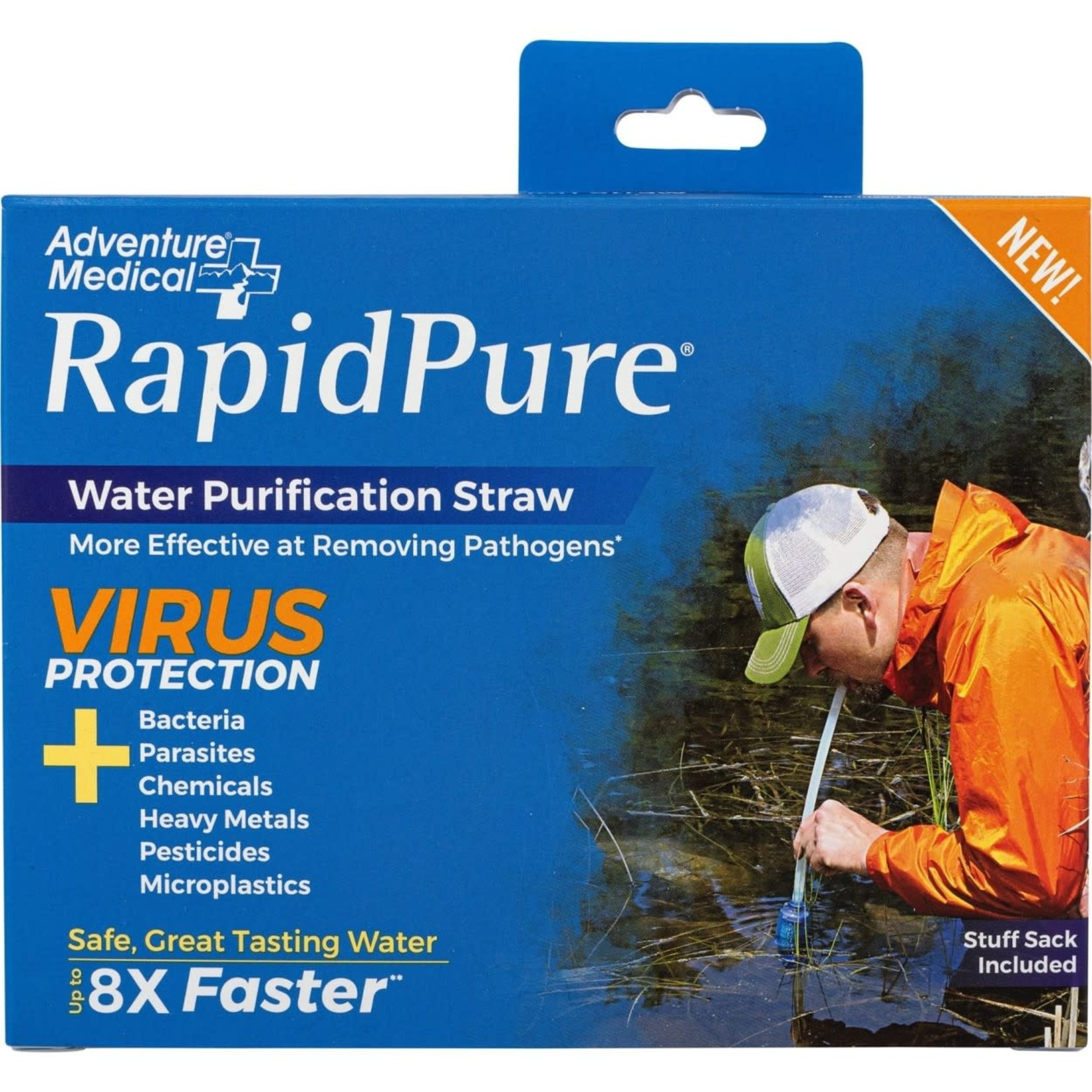 Adventure Medical Kit RapidPure Pioneer Straw