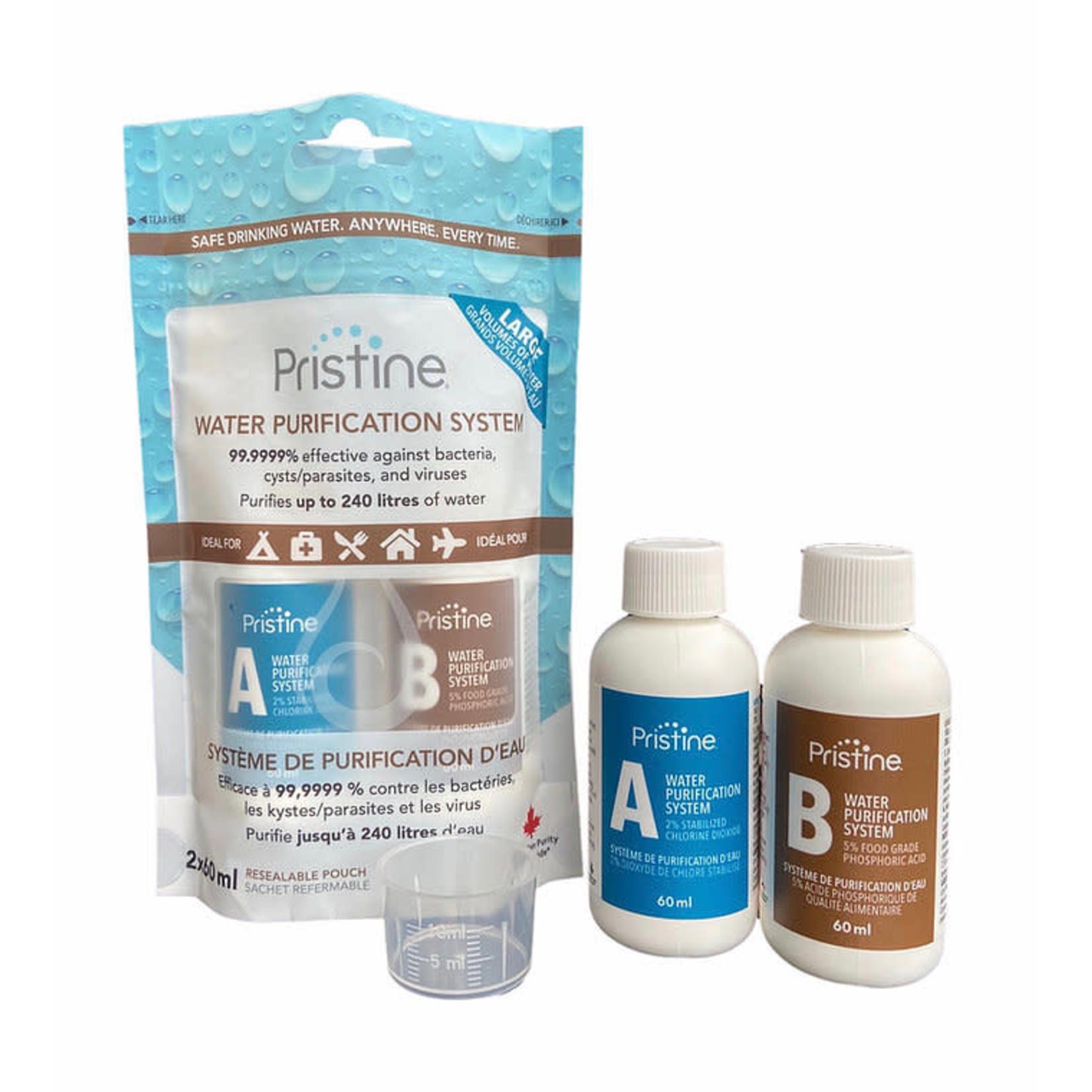 Pristine - Système de purification d'eau