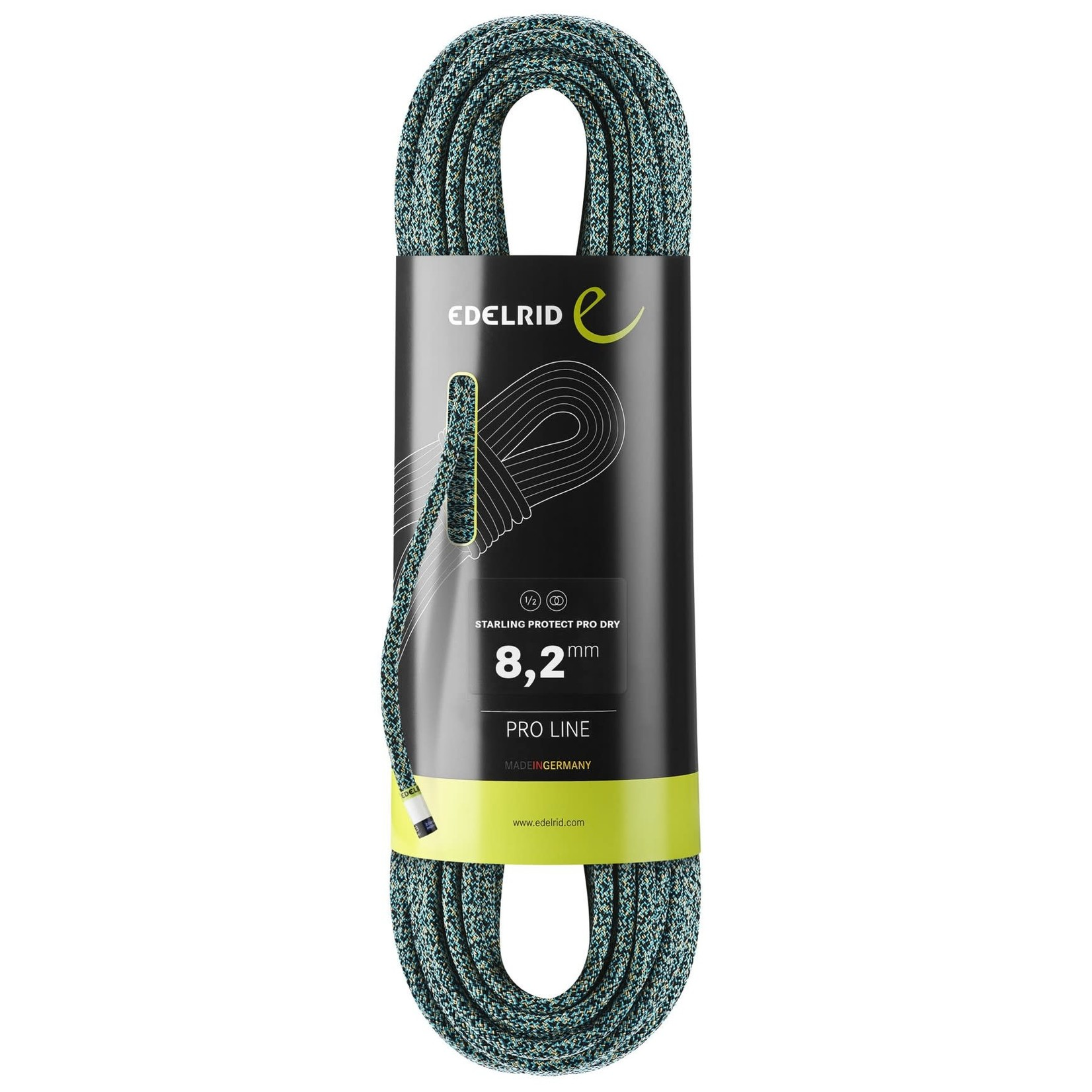Edelrid Corde Edelrid Starling Protect Pro Dry 8.2 mm