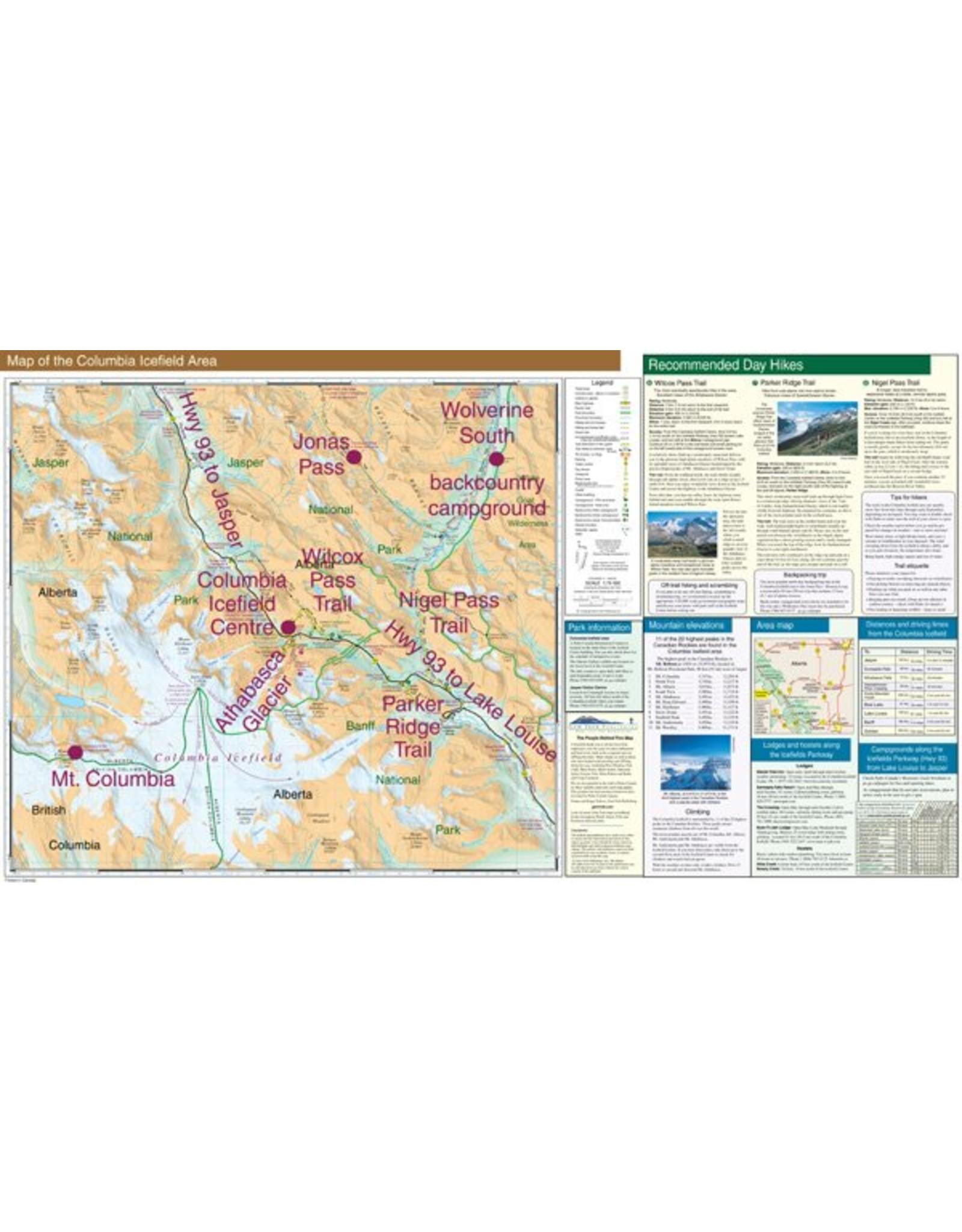 Gemtrek map Columbia Icefield
