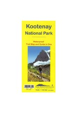 Gemtrek map Kootenay National Park