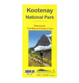 Gemtrek map Kootenay National Park