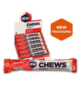 GU Double Serve Energy Chews -Strawberry
