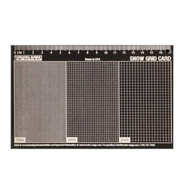 Brooks Range Snow Grid Card