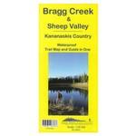 Gemtrek map Bragg Creek and Sheep Valley