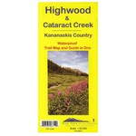 Carte Gemtrek Highwood et Cataract Creek