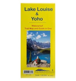 Gemtrek map Lake Louise &  Yoho