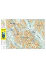 Gemtrek map Lake Louise &  Yoho