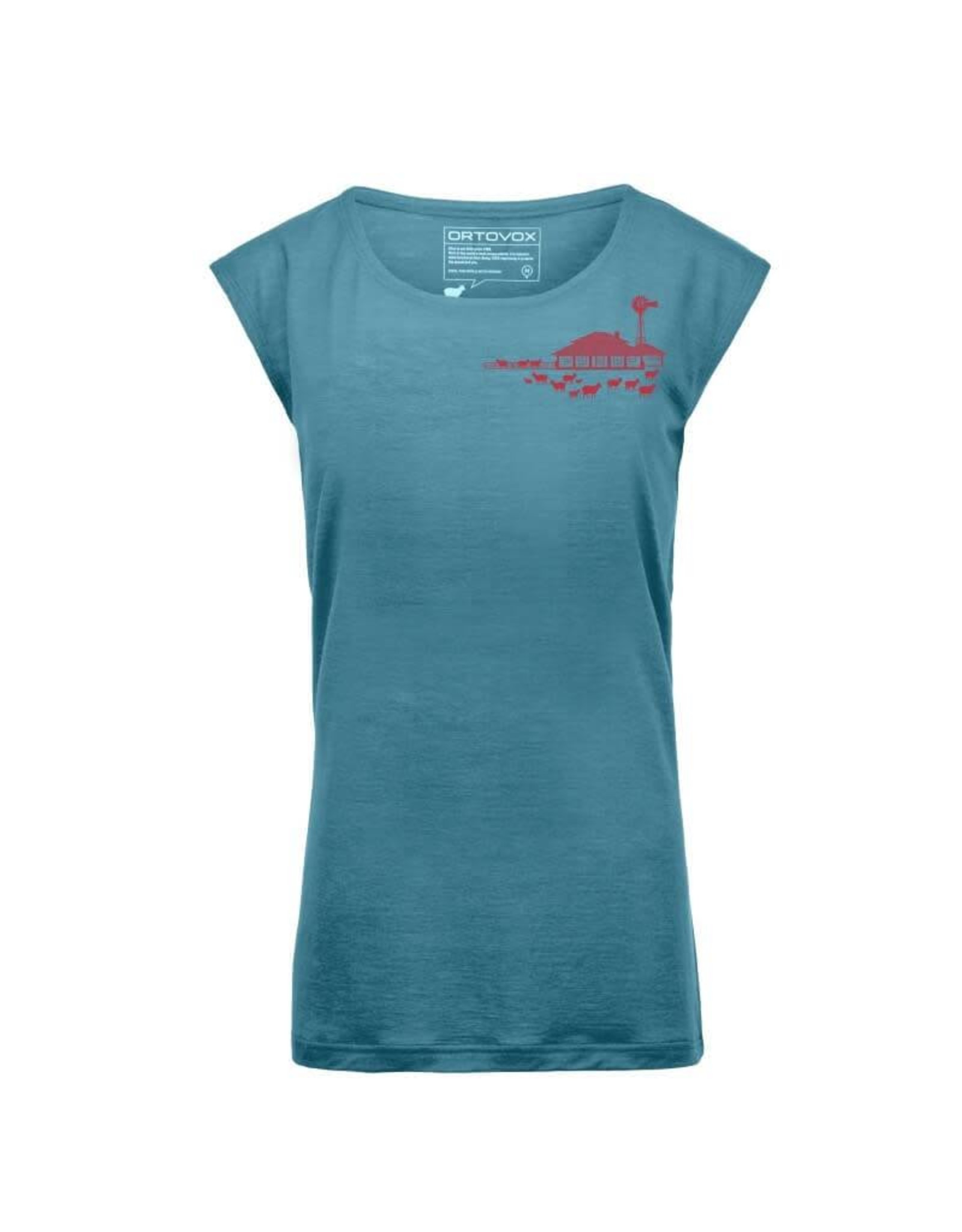 Ortovox Ortovox 150 Cool Farm T-Shirt - Femme
