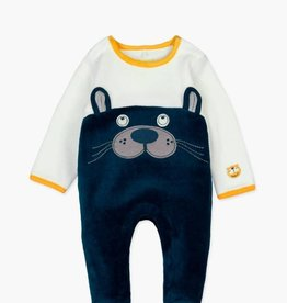 Boboli Velour, Bear Play Suit