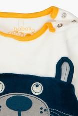 Boboli Velour, Bear Play Suit