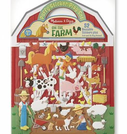 Melissa and Doug Puffy Sticker Play Set - Farm