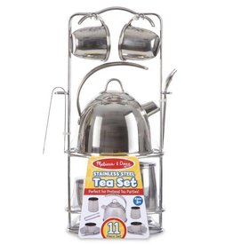 Melissa and Doug Metal Tea Set