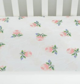 Little Unicorn Little Unicorn Cotton Muslin Crib Sheet- Watercolor Roses