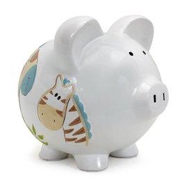 Large Jungle Jack Piggy Bank