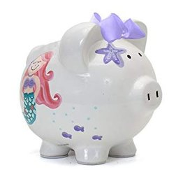 Mermaid Piggy Bank