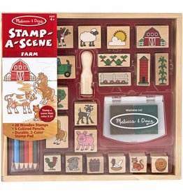 Melissa and Doug Melissa and Doug Stamp-A-Scene Farm