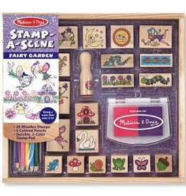 Melissa and Doug Melissa and Doug Stamp-A-Scene Fairy Garden