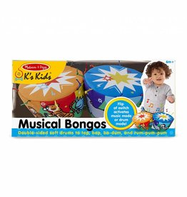 Melissa and Doug Musical Bongo