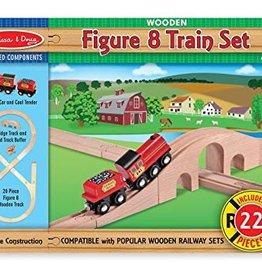 Melissa and Doug Melissa and Doug Figure 8 Train Set