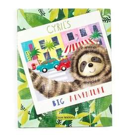 Jellycat Cyrils Big Adventure Book