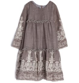 isobella & chloe Gracie Taupe Dress
