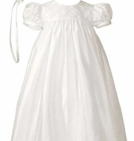 Little Things Mean A lot Baptism Gown W/bonnet - 100% silk