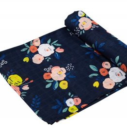 Angel Dear Angel Dear Bamboo Swaddle Blanket- Full Bloom