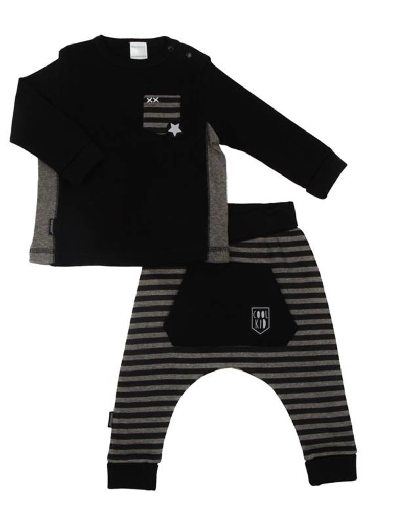 Kushies Kushies Cool Kid Harem Pant and Shirt Set