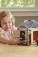 Melissa and Doug Wooden Doorbell House