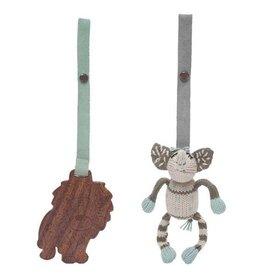 Finn & Emma 2 Piece Stroller Set- Elephant
