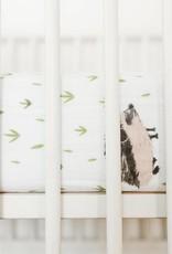Little Unicorn Cotton Muslin Crib Sheet- HedgeHog