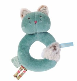 Magicforest Turquoise Cat Ring Rattle