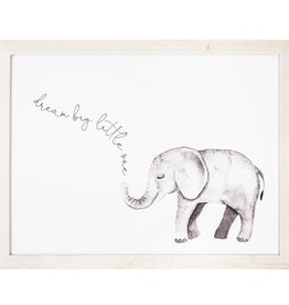 Dream Big Little One Elephant Picture- Large
