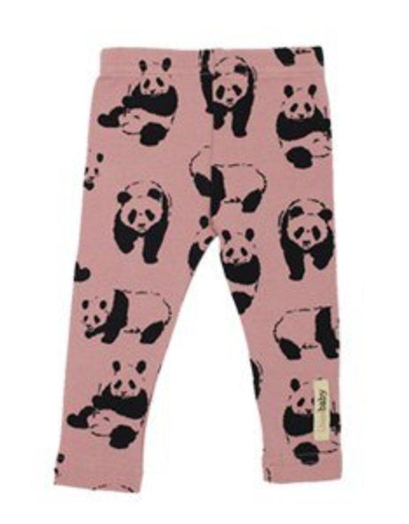 Lovedbaby Organic Panda Hoodie and Pant Lounge Set- Muave- 9-12m